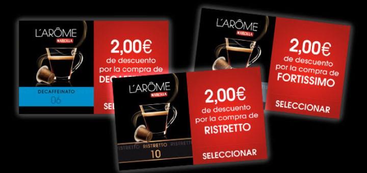 consigue un descuento de hasta 2 euros para marcilla larome espresso