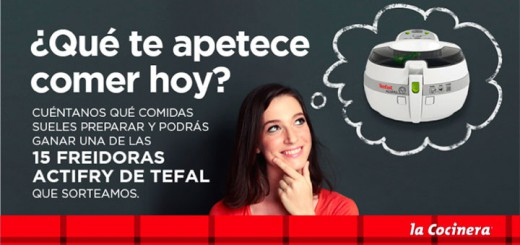 sorteo 15 freidoras Actifry Tefal