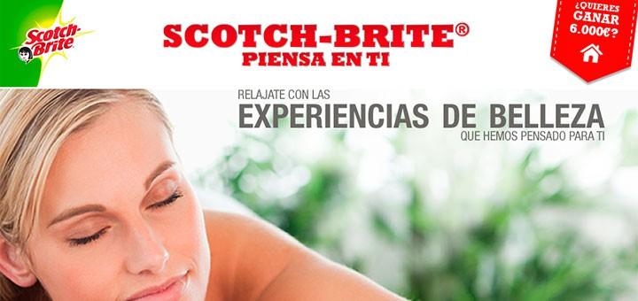 Experiencia de belleza gratis Scotch Brite