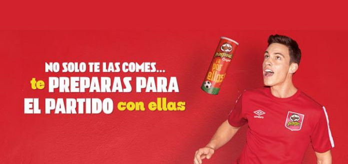 camiseta de futbol gratis con Pringles