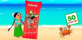 colchoneta verano Orlando