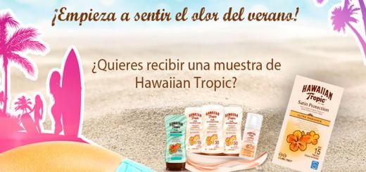 muestras gratis hawaiian tropic verano
