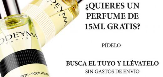 muestras gratis perfume Yodeyma