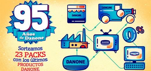 sorteo packs de productos Danone