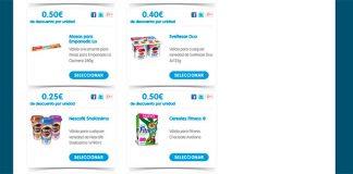 cupones de descuento Nestlé