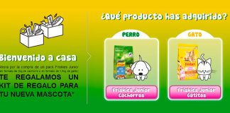 kit de regalo gratis con Friskies