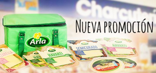 nevera de regalo con Arla