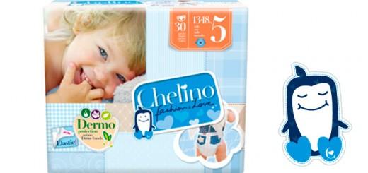 muestras gratis de pañales Chelino