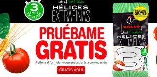 prueba gratis las helices extrafinas de Gallo