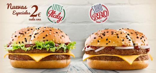 irresistibles de McDonalds a 2 euros