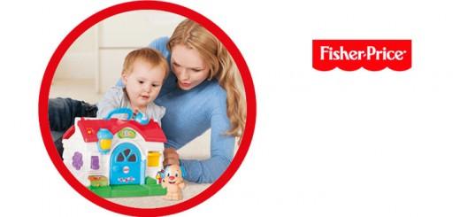 gana 10 juguetes de Fisher Price