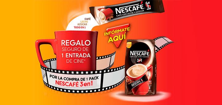 Entradas De Cine Gratis Con Nescaf 3 En 1 Muestras Gratis