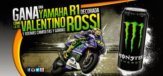 gana una yamaha r1 con Monster Energy