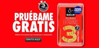 prueba gratis Plumas Extrafinas 3 minutos Gallo