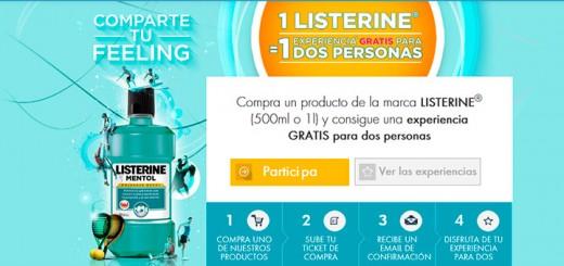 Experiencia gratis para 2 personas con Listerine