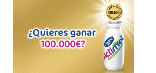 gana 100000 euros con Actimel