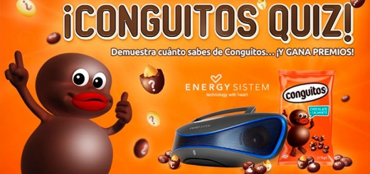 Gana un Energy Music Box con Conguitos