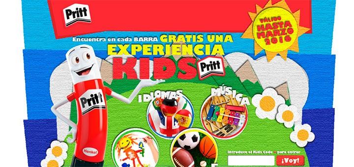 Gana una experiencia Kids Pritt