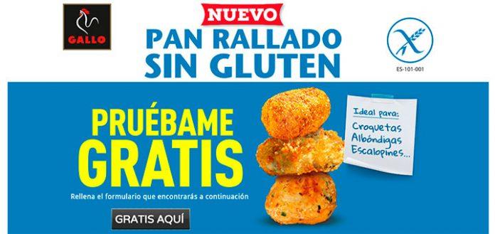 Prueba gratis Pan rallado sin gluten de Gallo