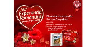 gana una experiencia romántica con Pompadour