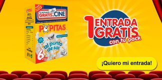 Cine gratis con Popitas