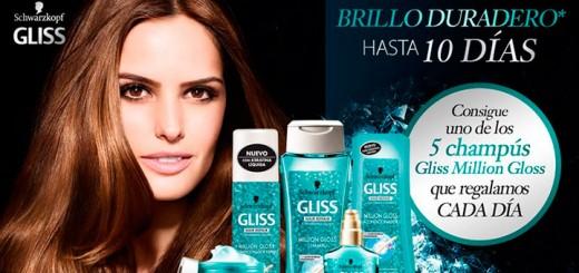 Consigue el nuevo champú Gliss Million Gloss