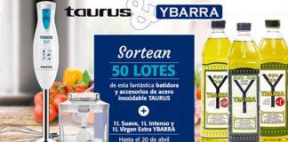 Gana una batidora Taurus con Grupo Ybarra