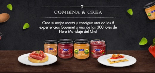 Gana una experiencia Gourmet con Hero