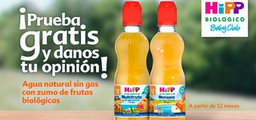 Prueba gratis agua con zumo de frutas biológicas HiPP