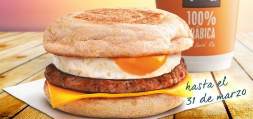 mcmuffin gratis mcdonalds desayuno salchicha y huevo
