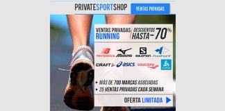 Descuentos de hasta 70% en Private Sport Shop