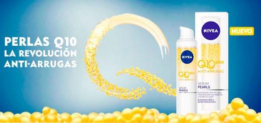 Muestras gratis de perlas Q10 de Nivea