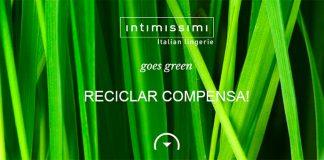 Reciclar compensa con Intimissimi