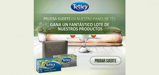 Tetley regala lotes de sus productos