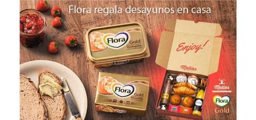 Flora regala desayunos en casa