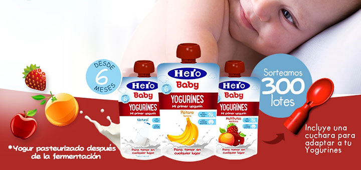 Hero Baby sortea 300 yogurines