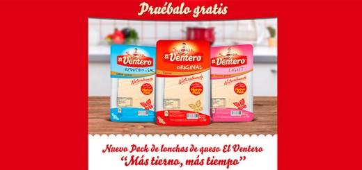 Prueba gratis lonchas de queso El Ventero