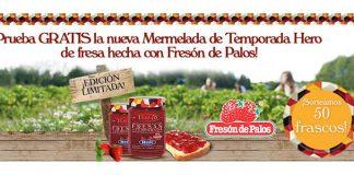 Prueba gratis mermelada de temporada Hero de fresa