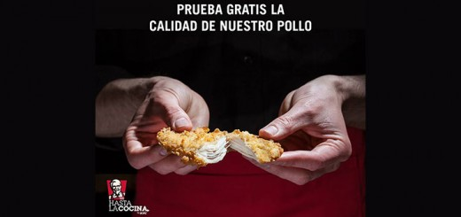 Prueba gratis pollo KFC