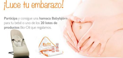 Bio-oil regala una hamaca BabyBjörn para tu bebé