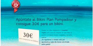 Consigue 30 euros para un bikini con Pompadour