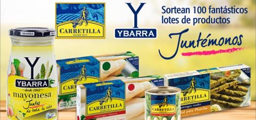 Ybarra y Carretilla sortean 100 lotes de productos