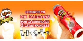 Consigue tu kit karaoke con Pringles