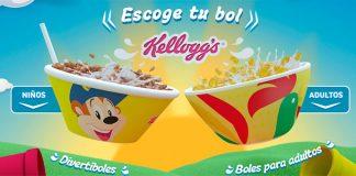 Consigue un bol Kellogg's