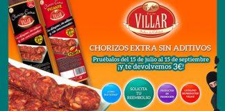 Consigue un reembolso en Chorizo Extra Villar