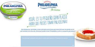 Gana packs de Philadelphia Sin Lactosa