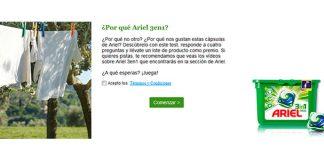 Consigue un lote de producto de Ariel 3 en 1