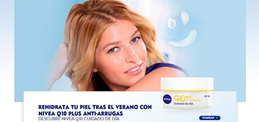 Gana Nivea Q10 Plus Anti-arrugas