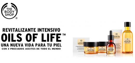 Muestras gratis de Oils Of Life de The Body Shop