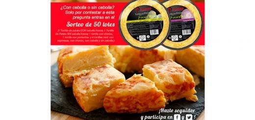 Palacios sortea 50 lotes de tortilla
